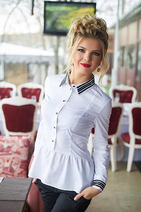 Чудесная блуза с контрастными вставками, фото 2