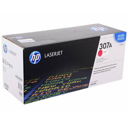 Картридж HP CLJ  307A Magenta (CE743A), фото 2