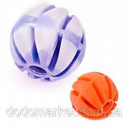 Игрушка для собак спиральный мяч с ароматом ванили 4 см № 1