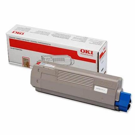Тонер-картридж OKI C610 magenta (44315322), фото 2