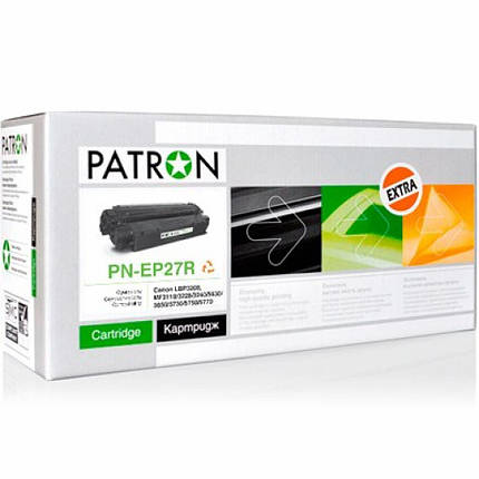 Картридж PATRON CANON EP-27 Extra (PN-EP27R), фото 2
