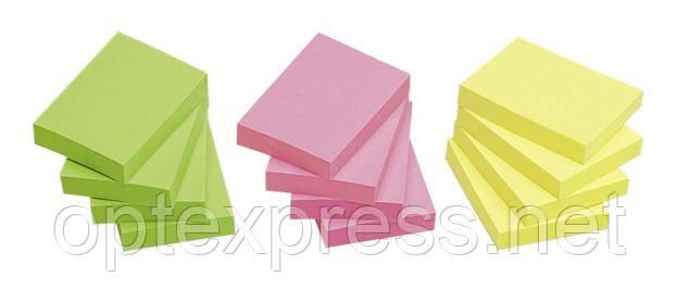 Самоклеющийся блок цветной  12х40x50 INFO NOTES PRINTINFORM