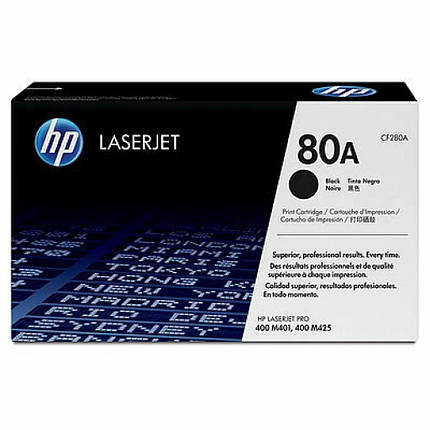 Картридж HP LJ  80A для Pro 400 M401/Pro 400 MFP M425 (CF280A), фото 2