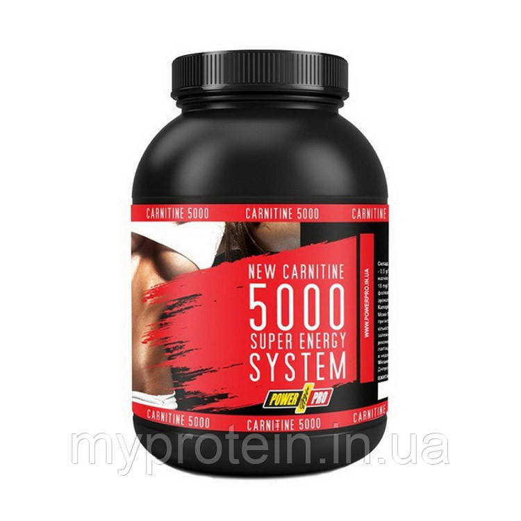 Power Pro	Для снижения веса L-карнитин Carnitine 5000 Super Energy	500	кавун