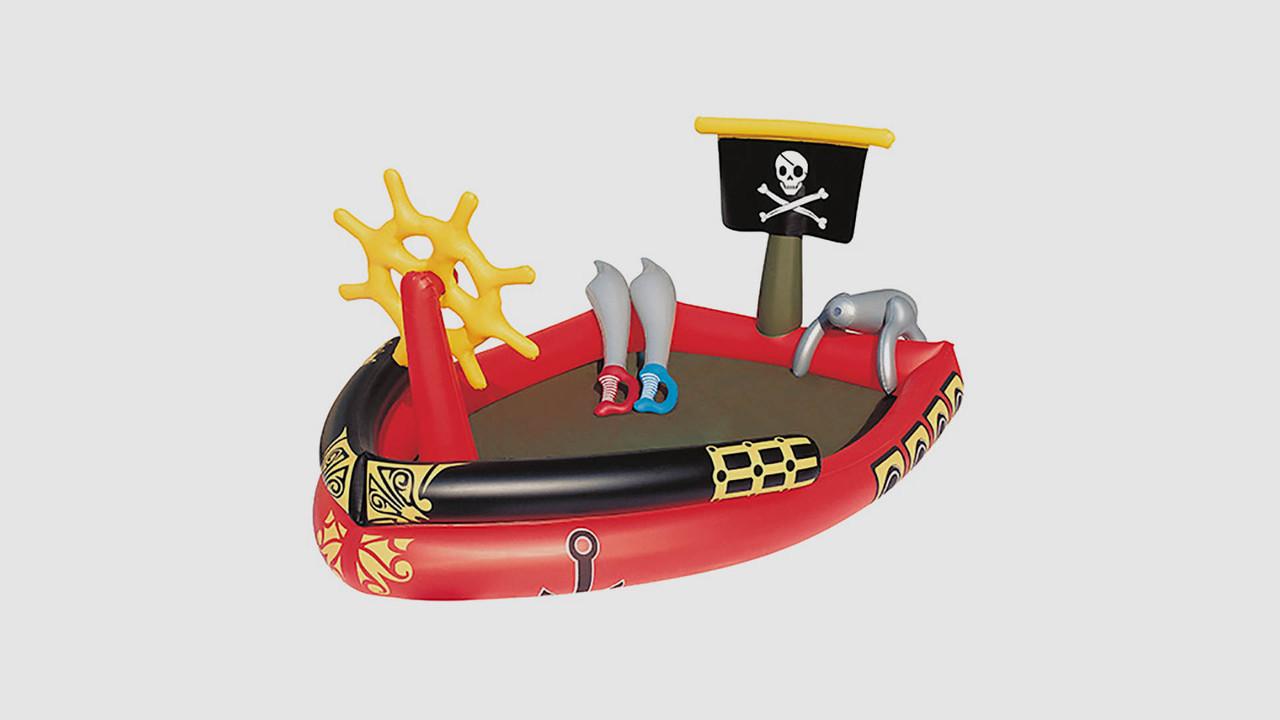 Бассейн BESTWAY - пиратский корабль. Для детей возрастом до 3 лет