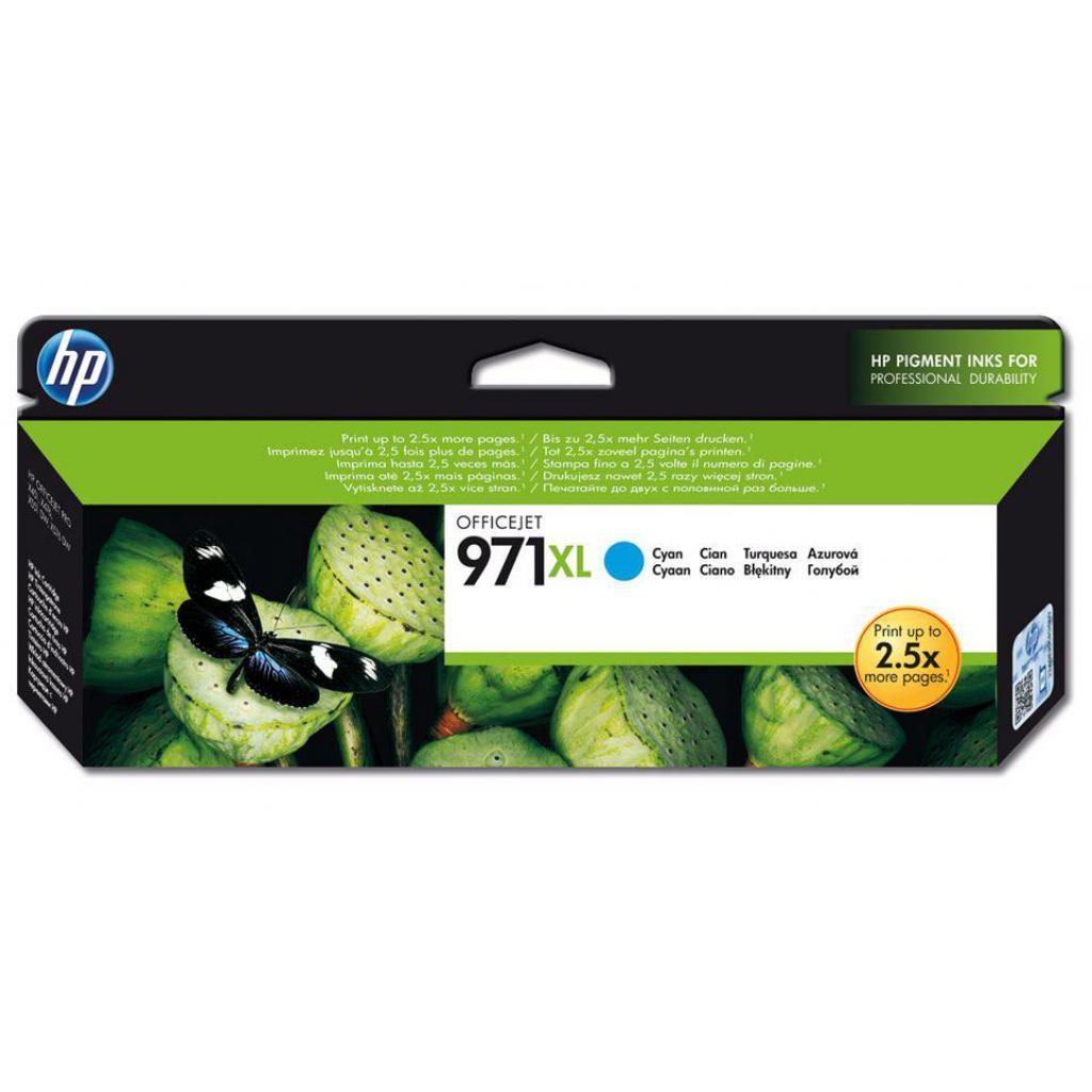 Картридж HP DJ No.971XL OJ Pro X451dw Cyan (CN626AE)