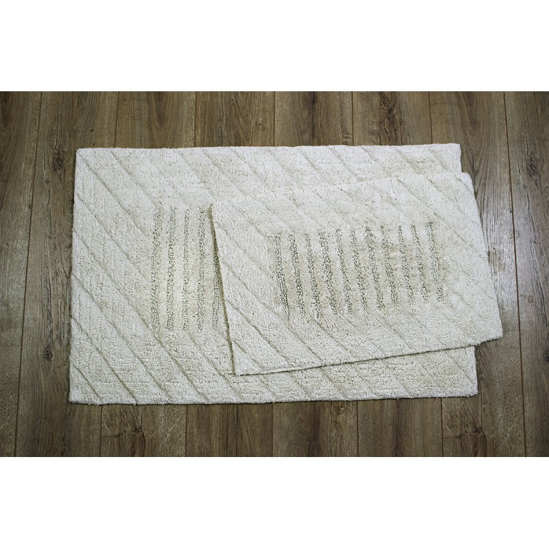 Набор ковриков Irya - Avis bej бежевый 60*90+40*60 см