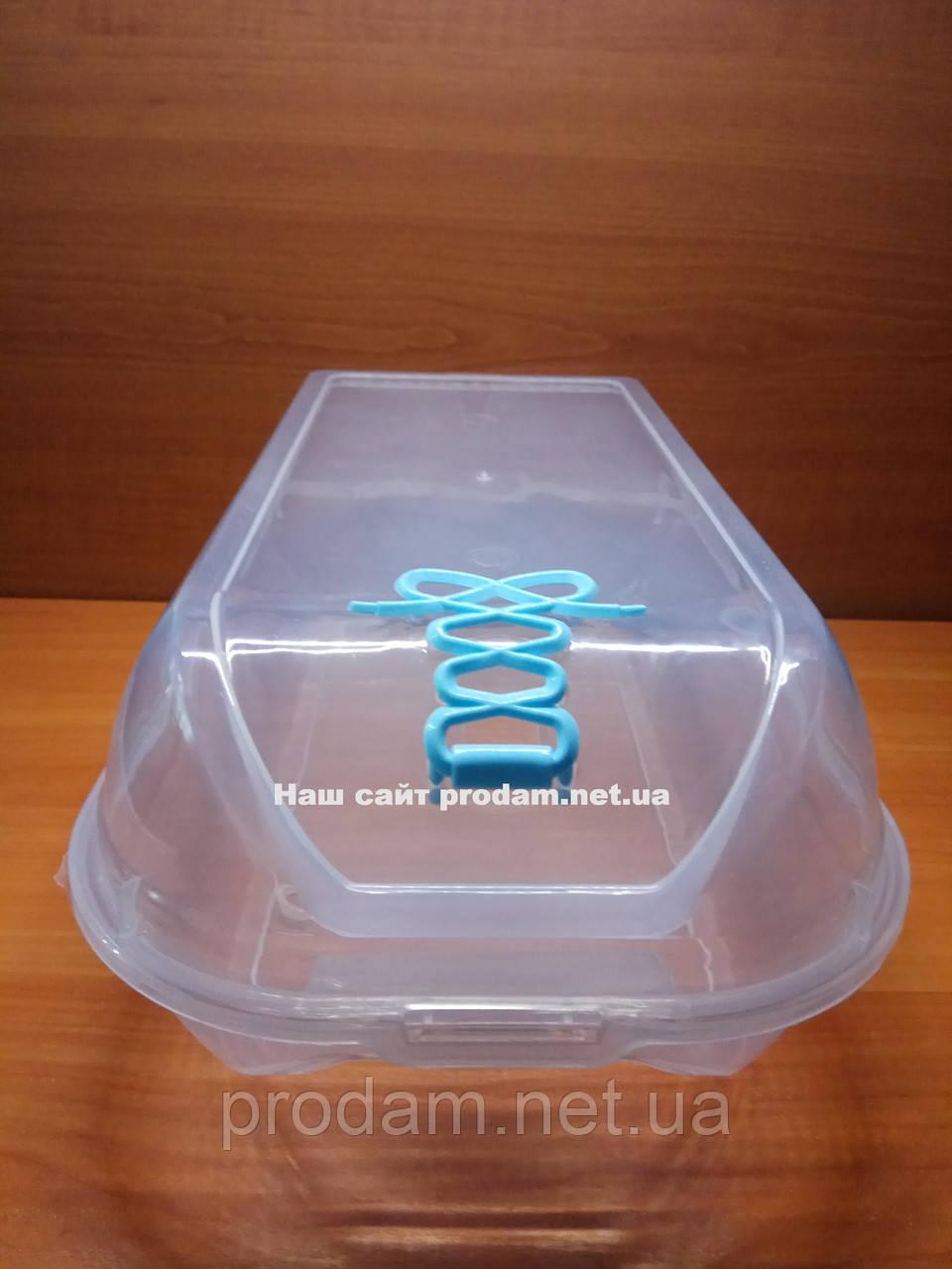 Коробки из прозрачного пластика для обуви