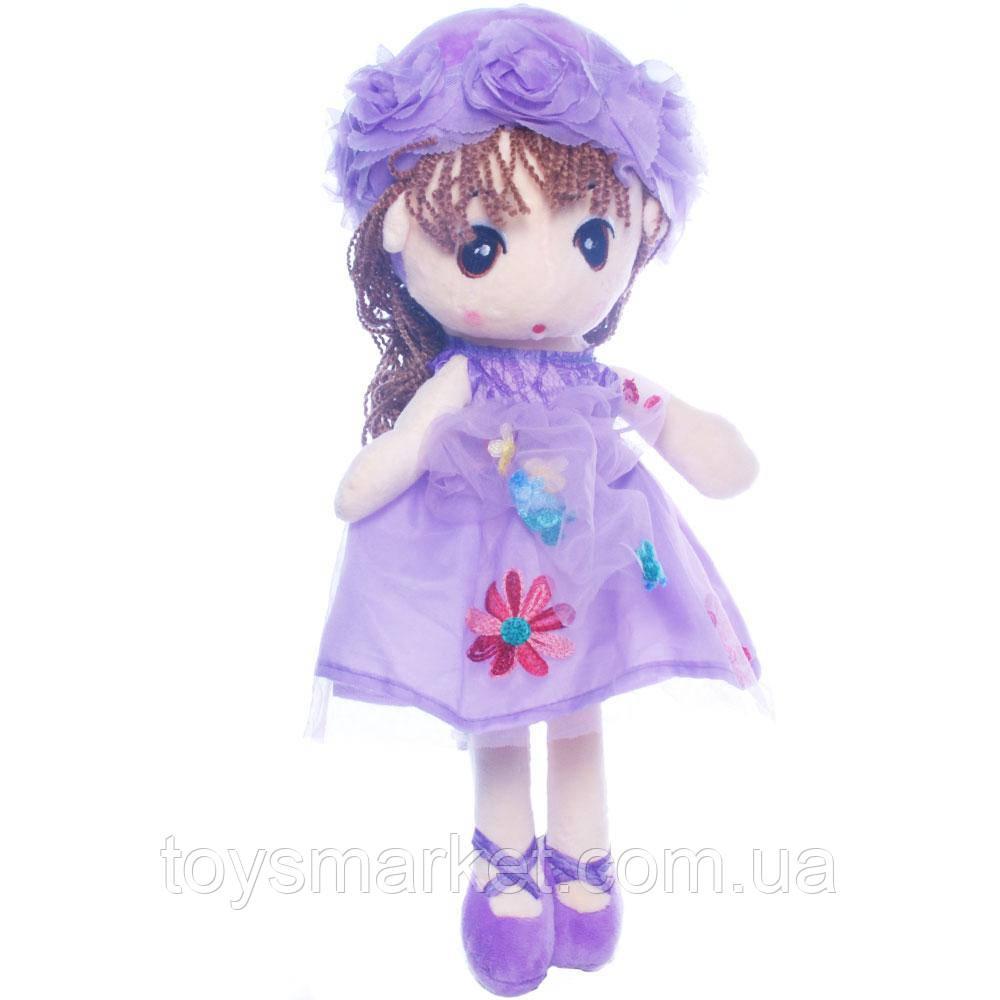 Детская игрушка кукла Ангелина,фиолетовая