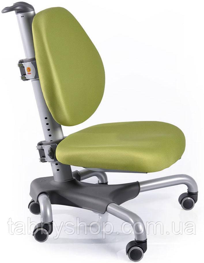 Детское кресло MEALUX Nobel SKZ (серый металл / обивка зеленая однотонная)