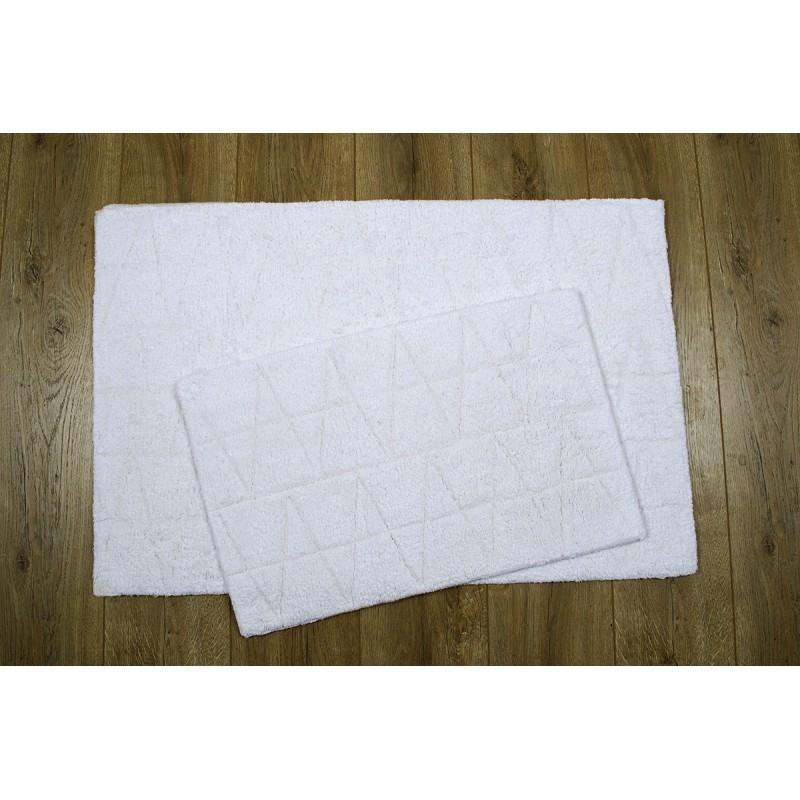 Набор ковриков Irya - Kinsey ekru молочный 60*90+40*60 см