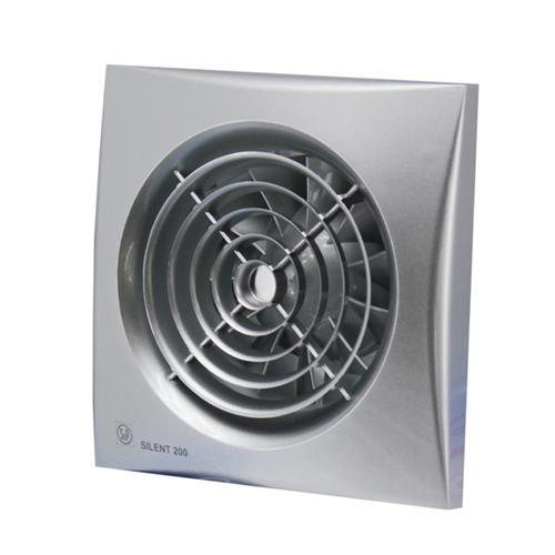 Вытяжной вентилятор Soler&Palau SILENT-100 CHZ SILVER