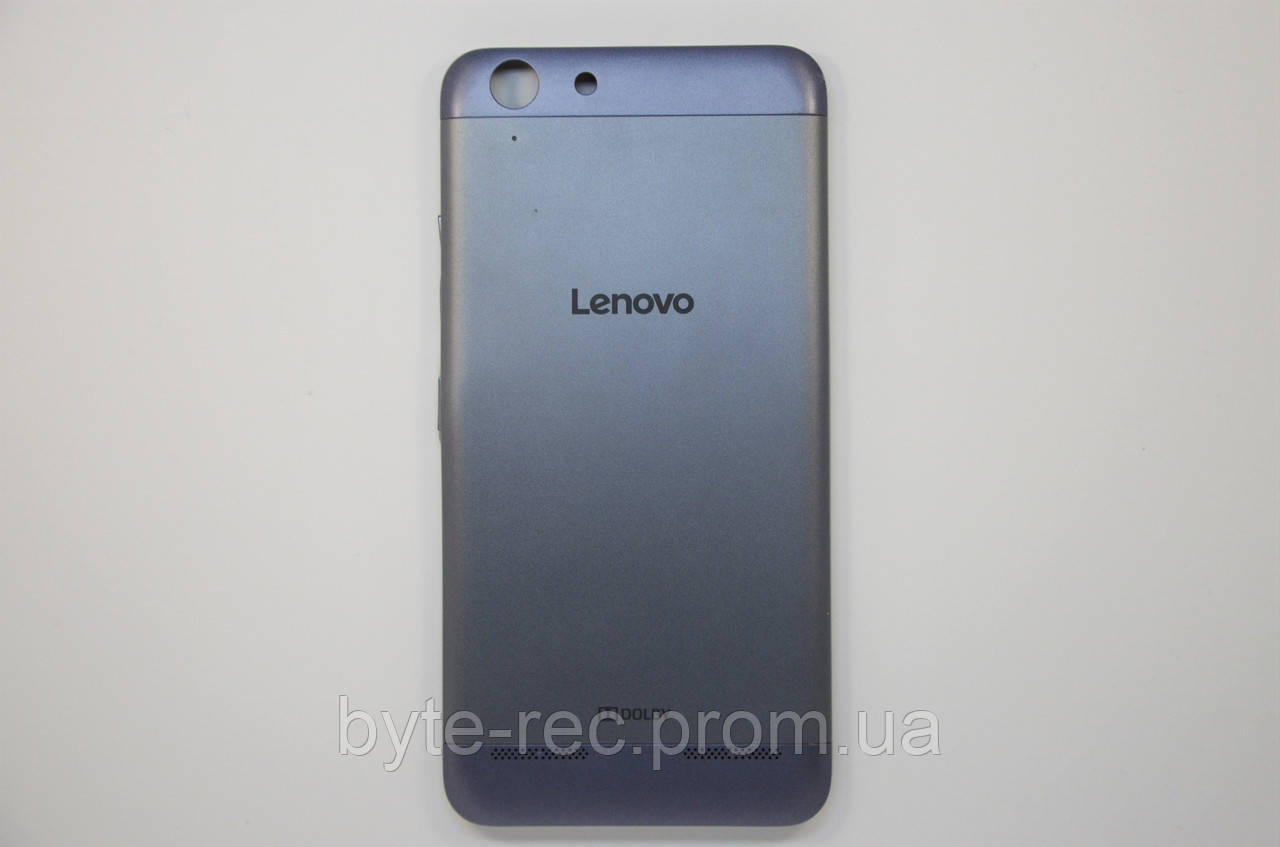 low priced 73469 24613 Задняя крышка (back cover) Lenovo K5/K5 Plus (A6020a40/a46) с кнопками Blue  (разборка original) - Bigl.ua