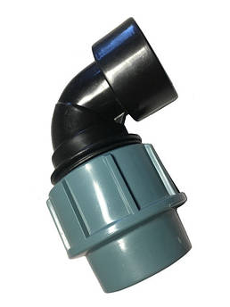 Отвод пнд с внутренней резьбой 40*1 1/4 дюйма сантехпласт