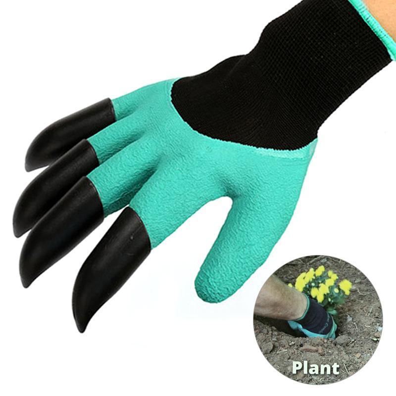 Садовые перчатки с наконечниками Garden Genie Gloves