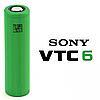 Аккумулятор 18650 / ICR / 3120 mAh / без защиты / плоский + /Sony vtc6 30a