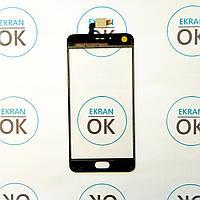 Сенсорная панель (тачскрин) для телефона Meizu M5s (M612) черный