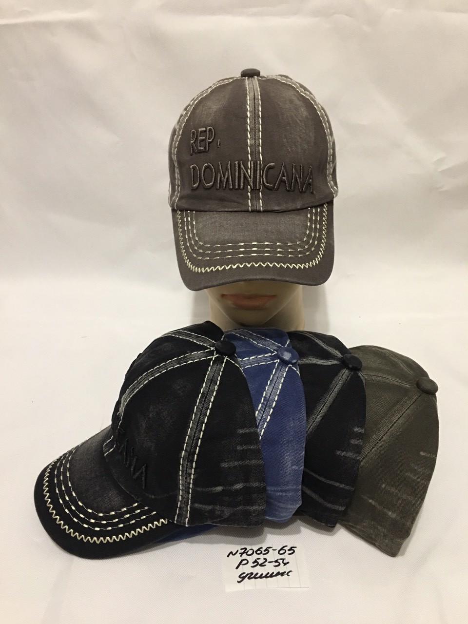 Дитяча кепка літня для хлопчика р. 52-54 джинс