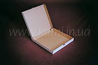 Коробка для піци 32*32см чотирикутна коричнева