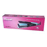 Утюжок - гофре 2в1 Kemei JB-KM 2209 плойка для волос функции выпрямителя и гофре