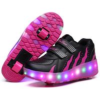 Светящиеся кроссовки Хилисы на 2х роликах детские и подростковые ЕВРО качество, лучший подарок детям)