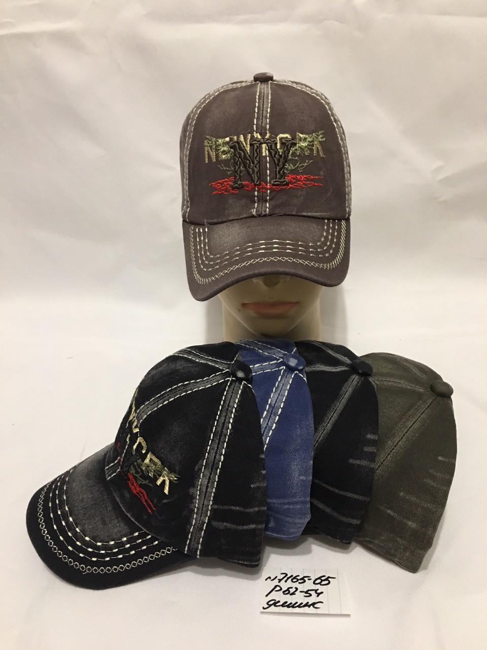 Детская кепка летняя для мальчика р.52-54 джинс