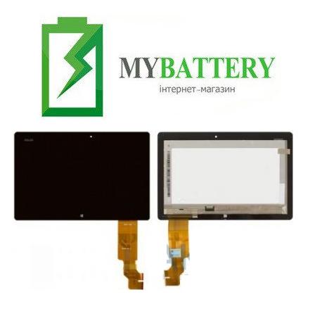 Дисплей (LCD) Asus TF600 VivoTab (5234N) с сенсором чёрный + рамка