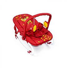 Детский шезлонг - качалка BT-BB-0001 RED, BabyTilly