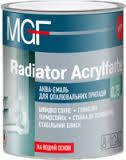 Акваемаль для опалювати. приладів MGF Radiator Acrylfarbe 0,75л