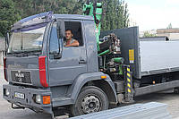 Манипулятор-доставка шлакоблока, Днепропетровск, фото 1
