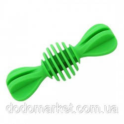 Игрушка для собак гантелька массажер для десен 12,5 см