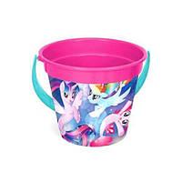"""Ведро пластиковое """"My Little Pony"""", 3,4 л 76816 sco"""