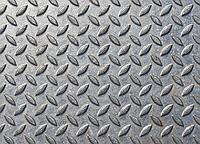 Лист рифленый стальной, 1500х6000х6 мм