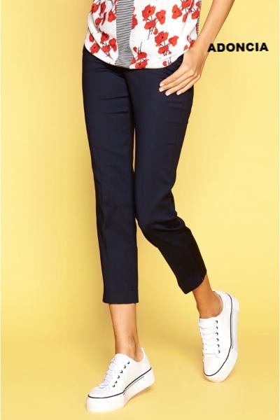 Укороченные брюки Zaps Adoncia темно-синии