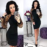 Обворожительное облегающее женское платье 42-46р.(3расцв.), фото 3