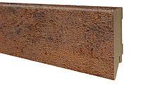Плинтус МДФ феррум 80х19 мм, шт., фото 1