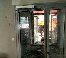Автоматические раздвижные двери Tormax, Опорная школа в пгт Соленое 31.08.2018 2