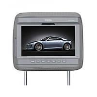 Підголівник з монітором Digital DCA-P09 G сірий