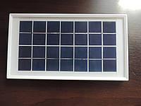 Портативная походно - полевая солнечная панель батарея 7 V - 3,5 W. Армейский сток из Англии.