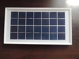 Солнечная панель батарея 7 V - 3,5 W.