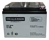 Аккумулятор мультигелевый Challenger A12-26 12V 26AH, (AGM) для ИБП, фото 1