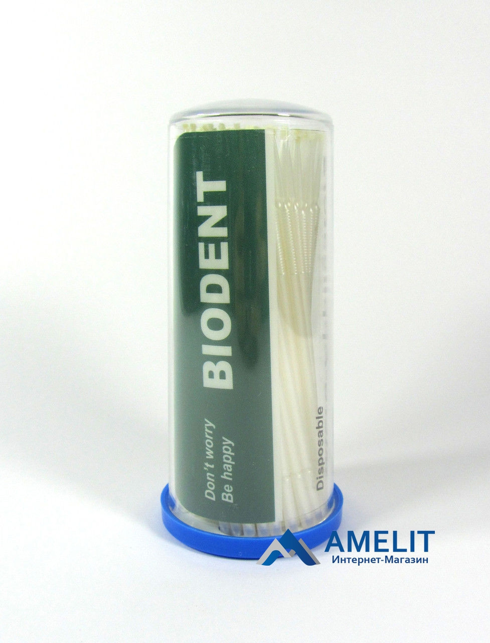 Микроаппликаторы Биодент (Biodent), Superfine/мелкие, 100шт./упак.