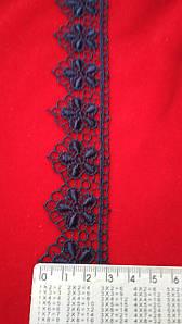 Кружево макраме с кордом цветочки 20 метров моток.Кружево для шитья.