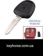 Авто ключ для MITSUBISHI  Lancer, Outlander, Shogun, Pajero (Митсубиси) 3 ― кнопки, с чипом ID46, 433 MHZ