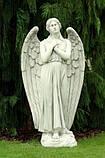 Скульптуры из бетона. Статуя Ангел скорби из бетона 140 см, фото 2