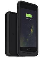 Ударопрочный аккумуляторный чехол Mophie Juice Pack для iPhone 6 plus/6S plus на 2420mAh [Черный, Чехол + станция]