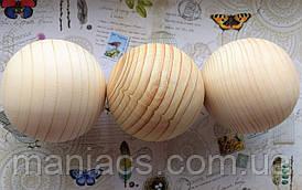 Деревянный шар, 7,5 см