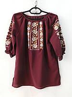 Блузки-вышиванки женские (44-54) Украина, от 6 шт.