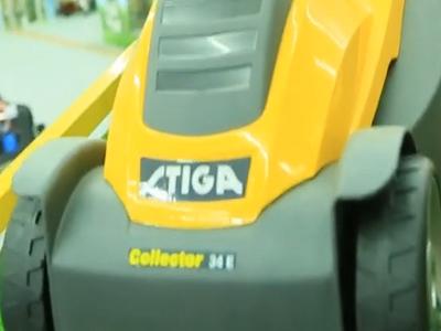 Газонокосилка Stiga Collector 34E