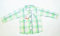 Стильная рубашка  на мальчика 3 года, фото 1